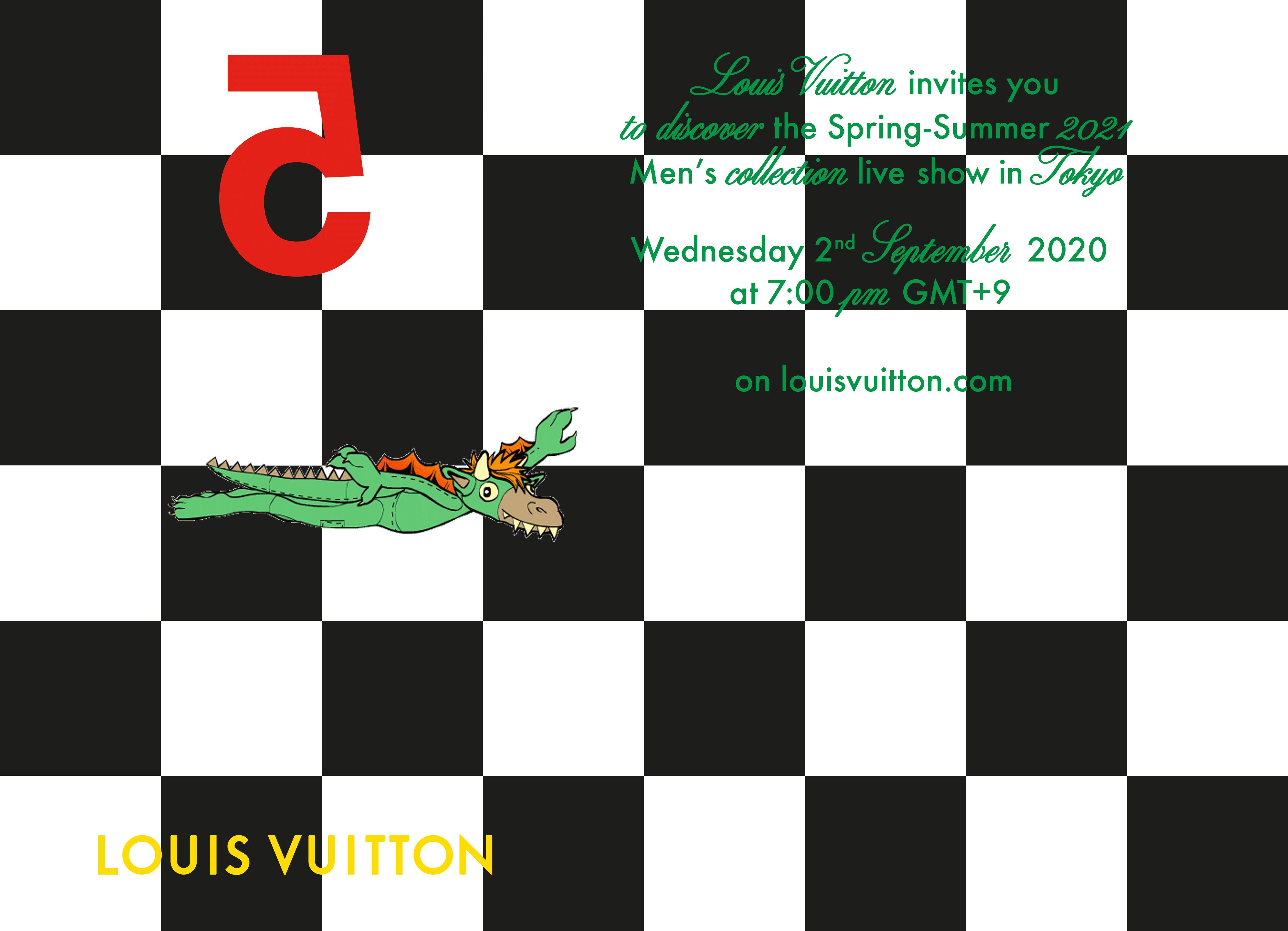 世界配信Louis Vuittonメンズコレクションショー東京初開催 最新ルック60体追加