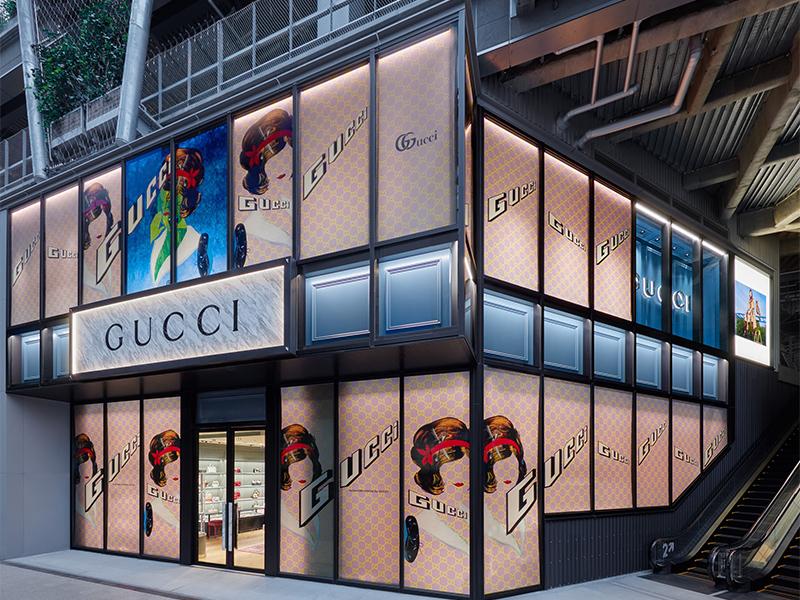 渋谷・MIYASHITA PARKに「GUCCI」新店 2フロア展開