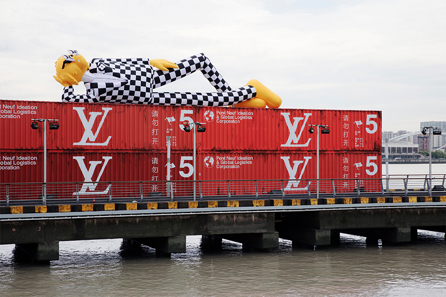 Louis Vuittonが2021年春夏メンズコレクション発表 アニメ作品公開