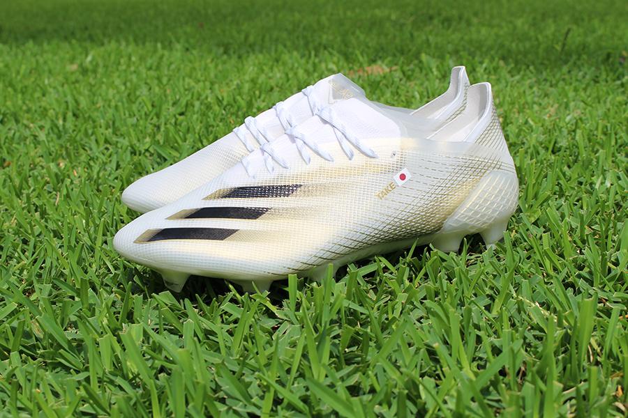光を通すアッパーの軽量モデル「X GHOSTED」登場 久保建英選手着用adidas Football革新的スパイク