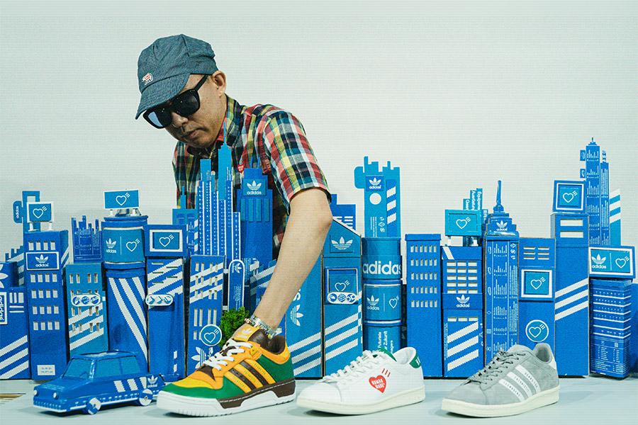 adidas Originals、NIGO®︎手がけるHUMAN MADE®︎とのコラボシューズ発売