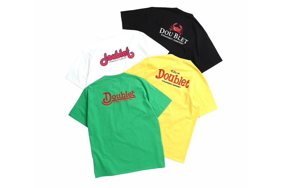 doublet、ファミレスモチーフのWISM別注Tシャツ発売