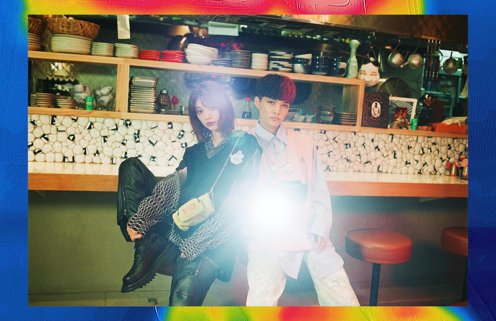 SEKAI NO OWARI、Fukase率いるBAD MOODが韓国人気ブランドとコラボ