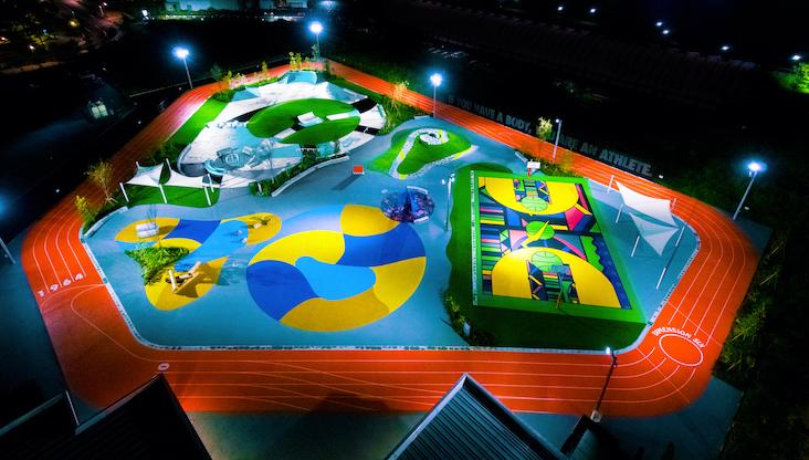 豊洲にナイキ新スポーツパーク開業