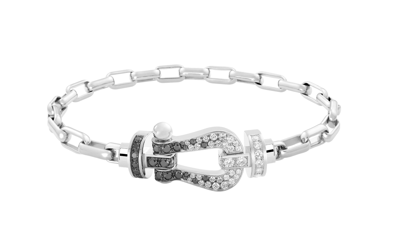 FRED、白黒ダイヤモンドの新作ブレスレット発売