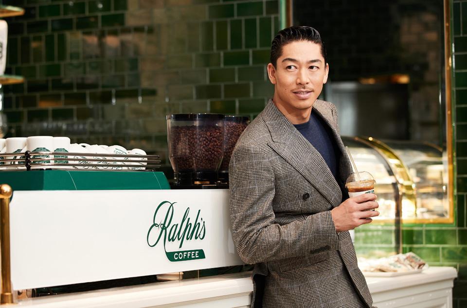 RALPH LAURENが名古屋に旗艦店オープン 併設カフェにAKIRAオリジナルドリンク
