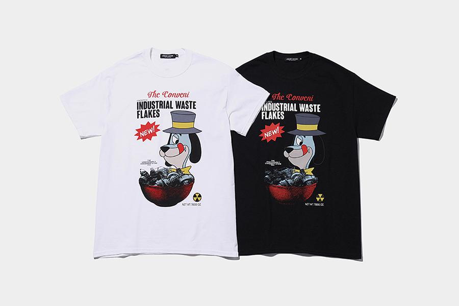 THE CONVENI ×MADSTORE UNDERCOVER、「パッケージ」入りTシャツ発売
