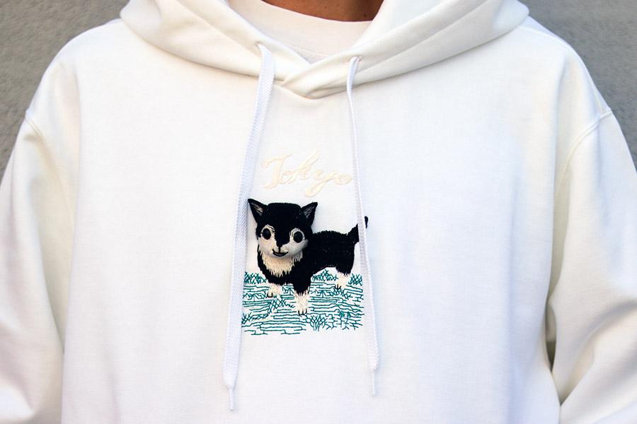 doublet、チワワ飛び出す刺繍スウェット発売 セレクトショップWISM別注