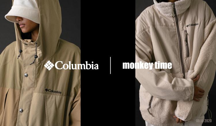 Columbia Black Labelからモンキータイム別注商品発売 フリースなどアップデート