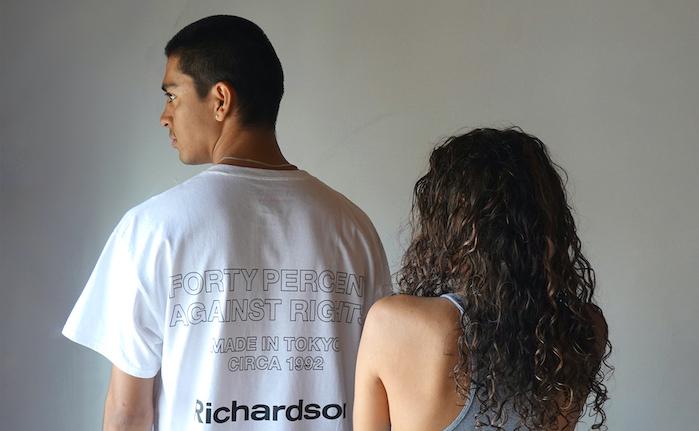 Richardson、西山徹率いる「FPAR」とコラボ