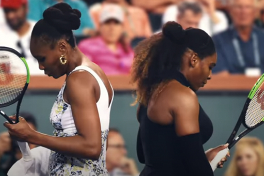 ヴィーナス&セレーナ・ウィリアムズ姉妹の絆表現 Nikeが新フィルム公開