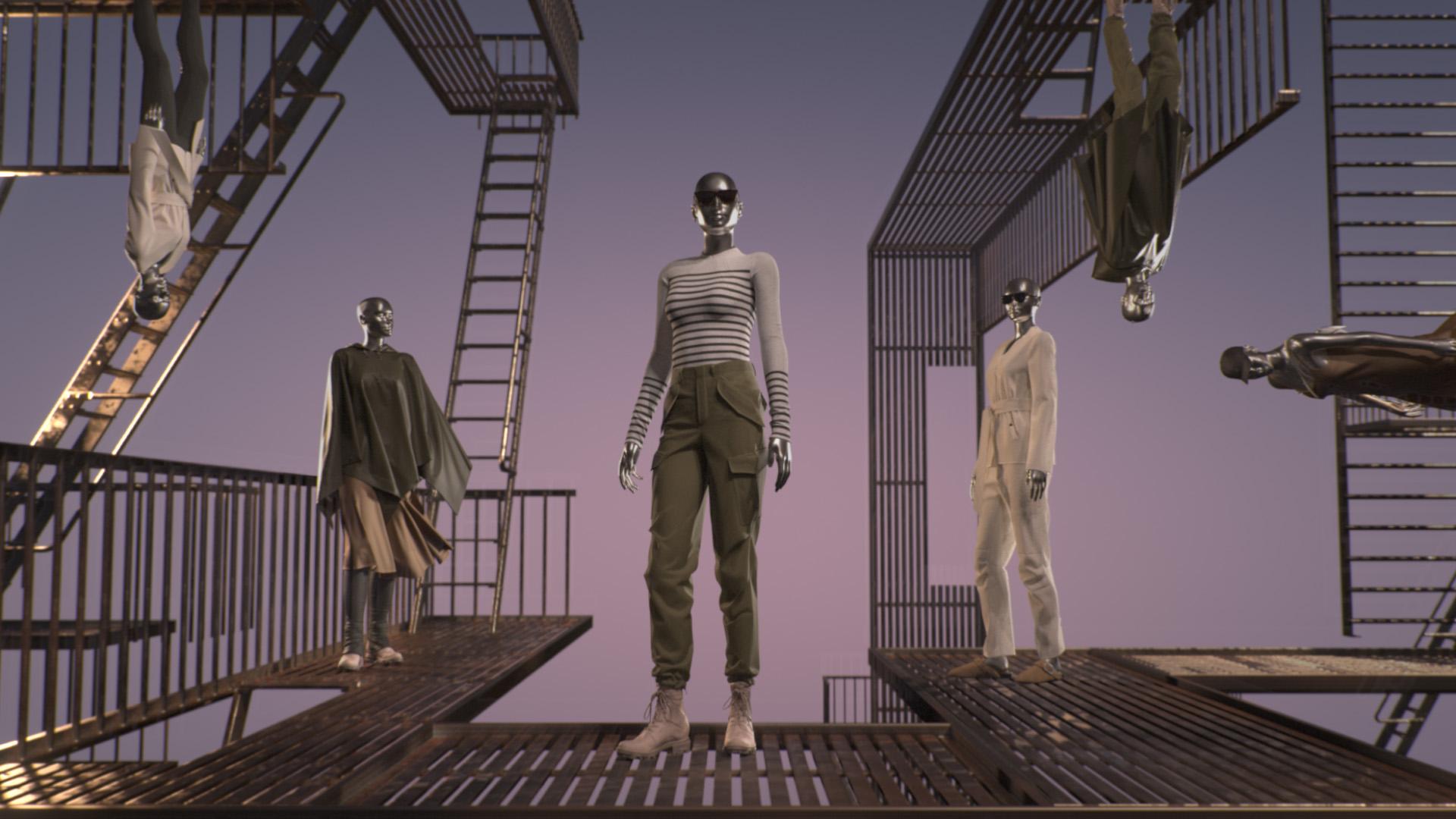 rag&bone、マイクロソフトと連携し新作を動画で公開