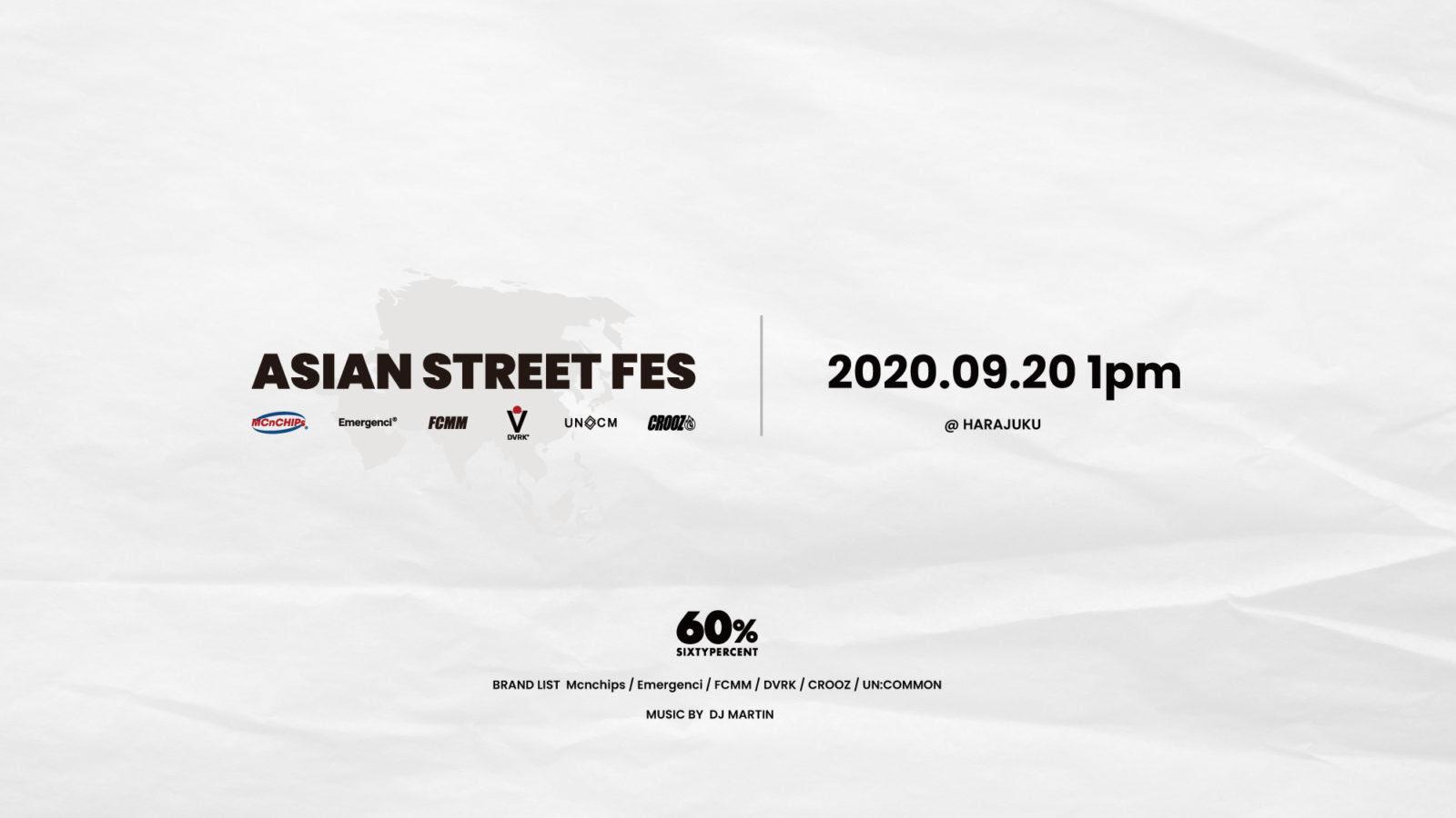 アジアのハイストリートブランド集結。SIXTYPERCENTがポップアップ開催