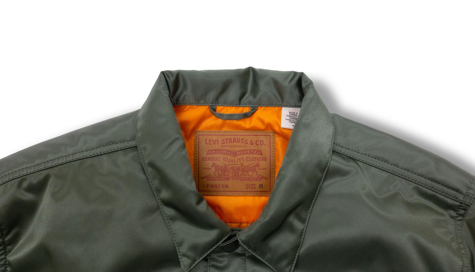 吉田カバン創業85周年 Levi's®×PORTER、新作トラッカージャケット発売