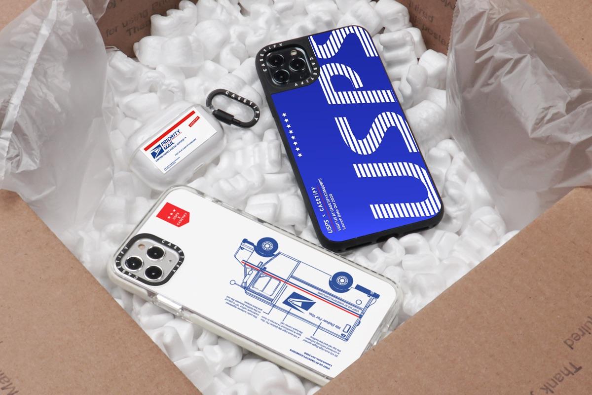 CASETiFY「Co-Lab」シリーズ新作は米郵便局USPS