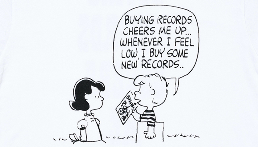 「ピーナッツ」原作の台詞をプリント ボンジュールレコードがコラボアイテム発売
