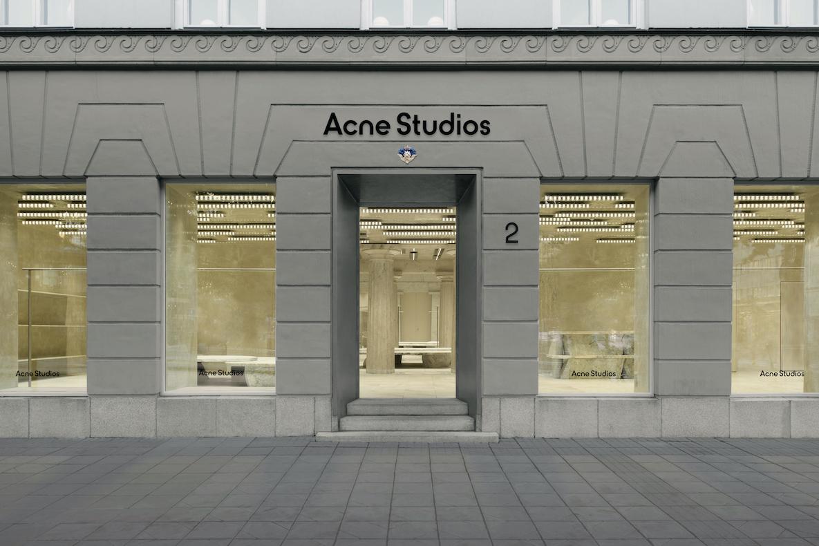 Acne Studios、ストックホルム症候群で知られる店舗を改装