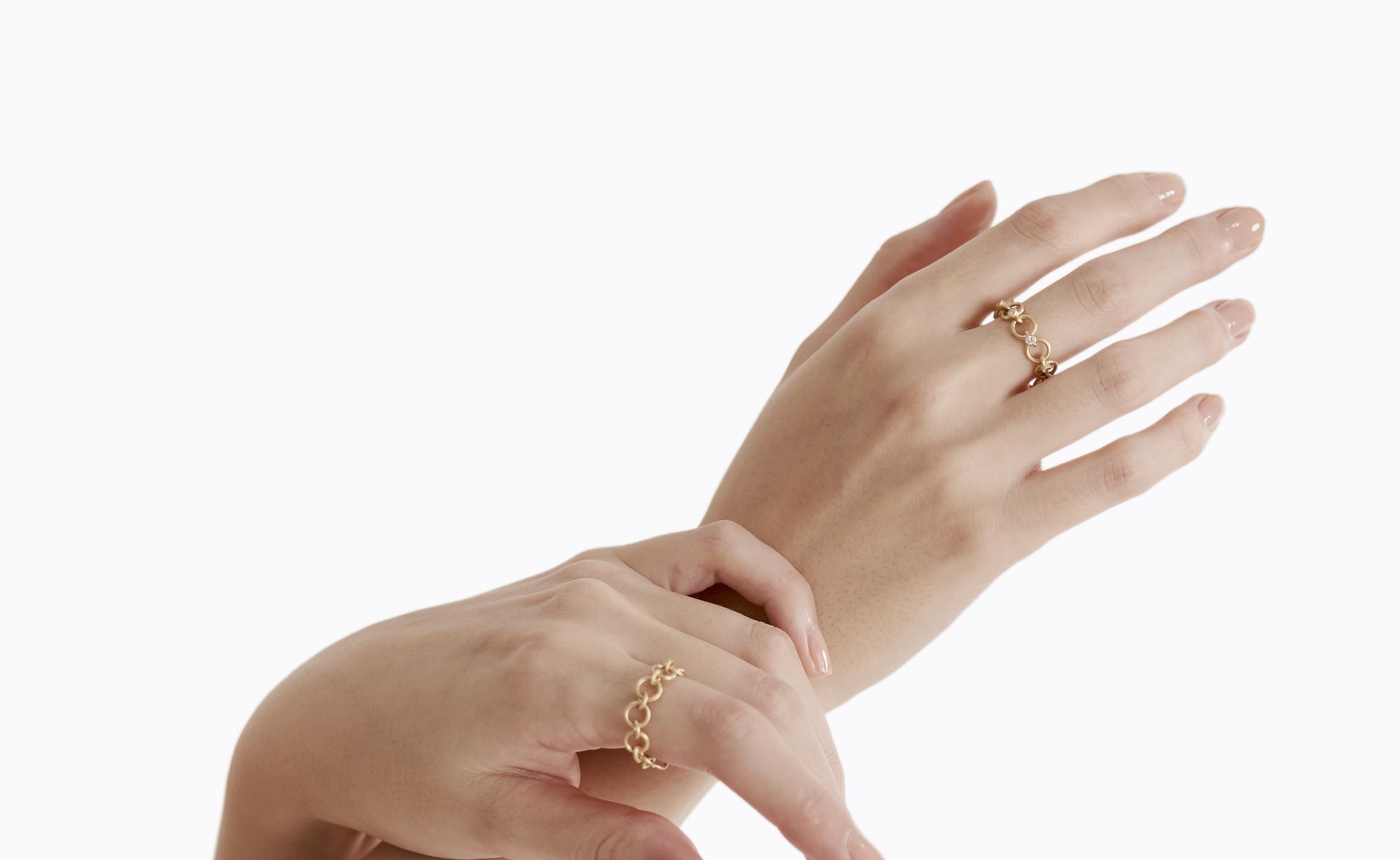 SHIHARA、丸環を用いたチェーンコレクションを刷新