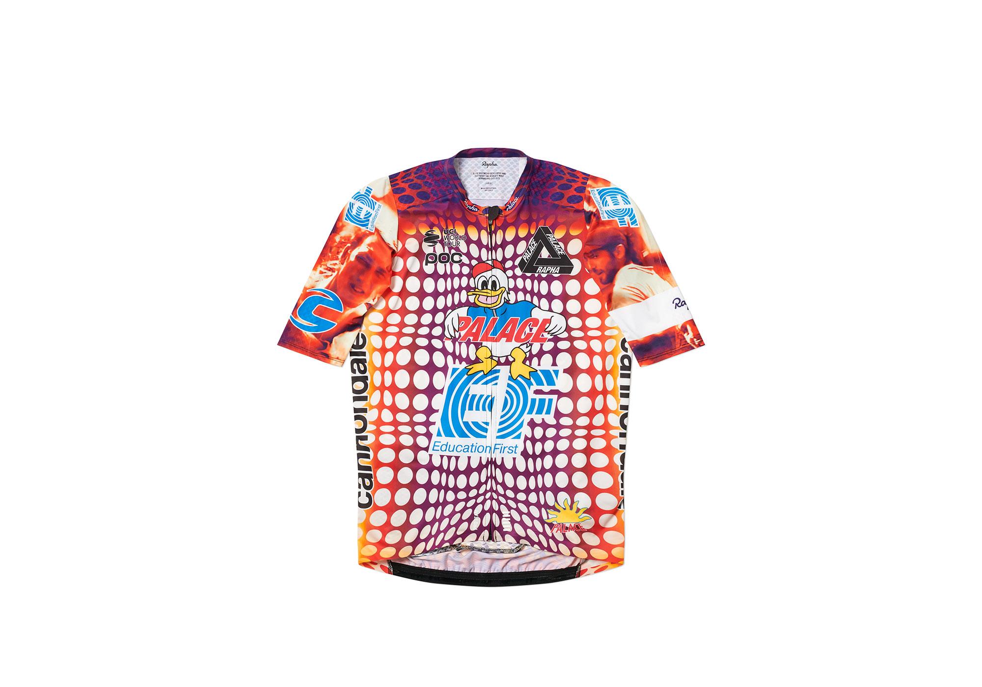 PALACE SKATEBOARDS × Rapha、ロードレースチーム着用コラボコレクション発売