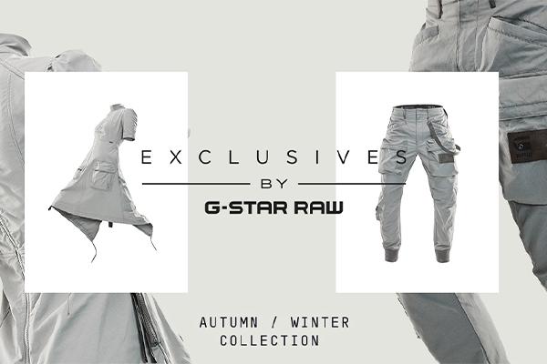 膨大なビンテージアーカイブに着想 過去と現代をつなぎ合わせたG-Star RAW最新コレクション