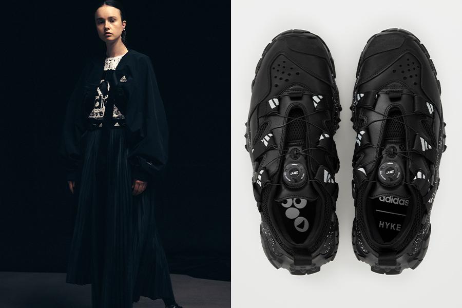 adidas by HYKE、2020年秋冬コレクション日本先行発売