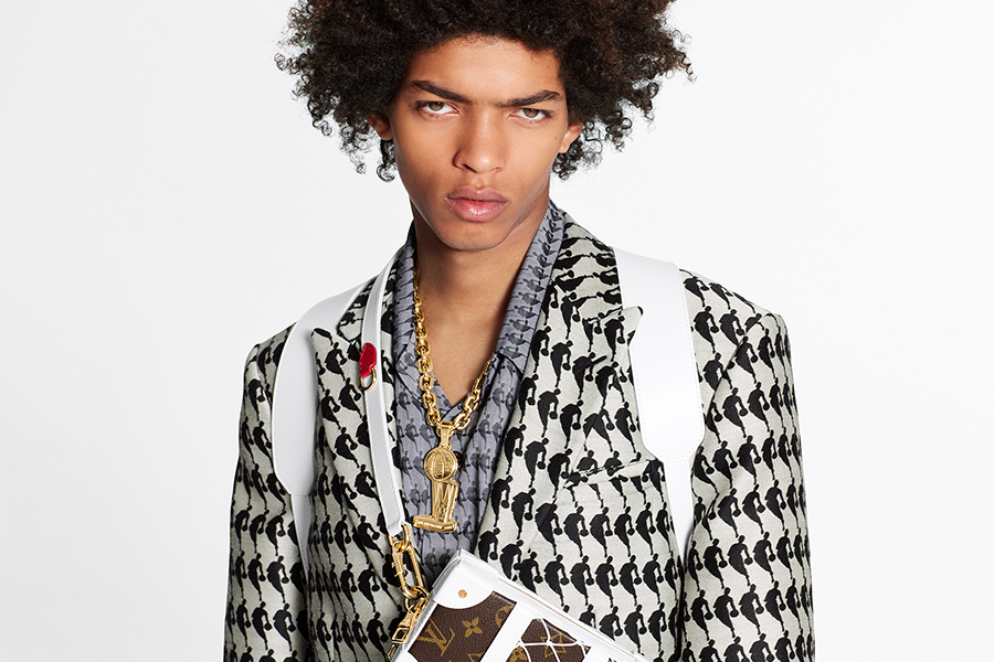 Louis Vuitton、メゾン初NBAカプセルコレクション「LV × NBA」発表