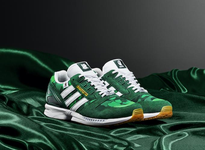 adidas×BAPE®×UNDEFEATEDトリプルコラボによる新作シューズ発売