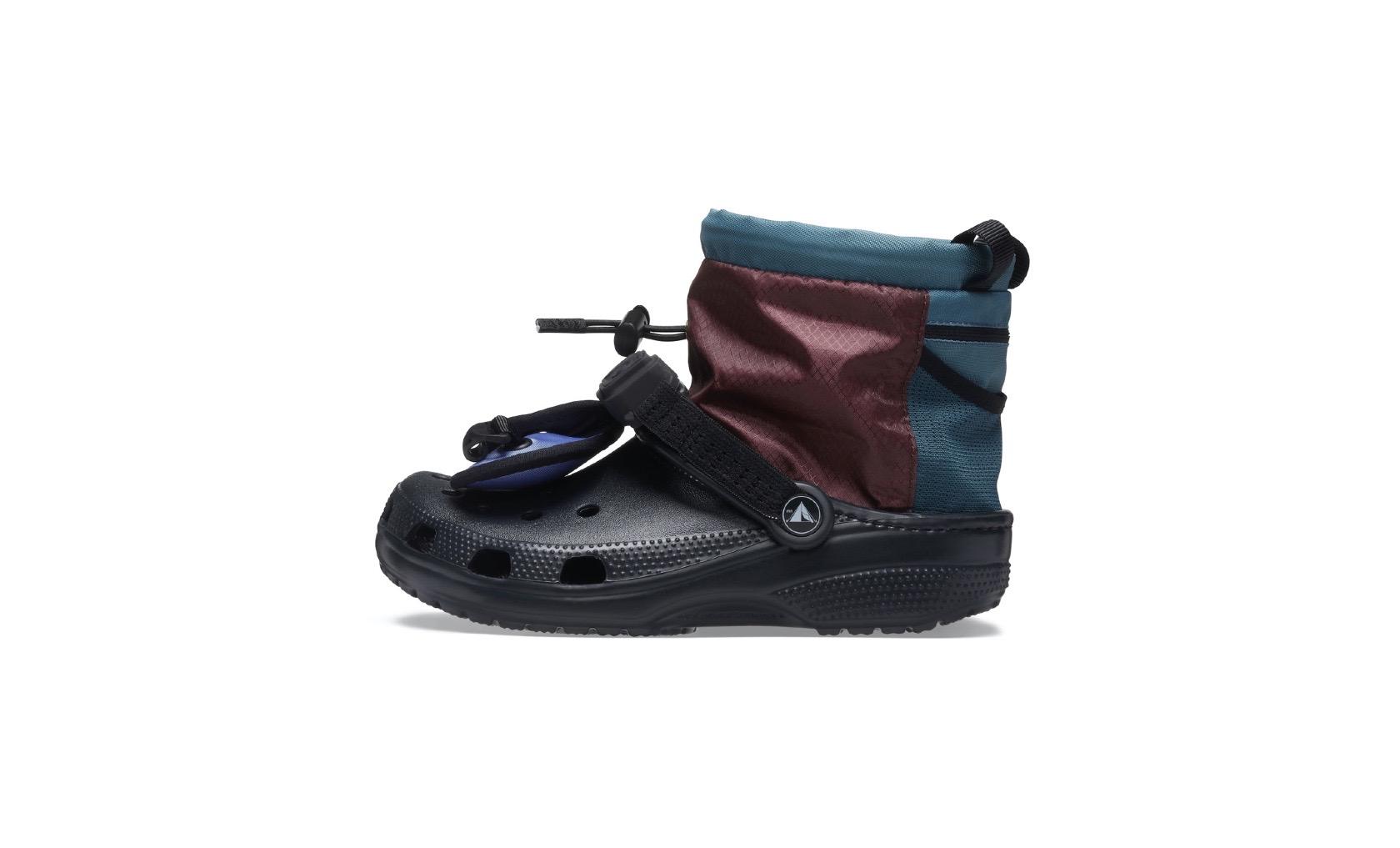 crocs、登山やキャンプでも使える新作シューズ NY拠点のデザイナーと初コラボ