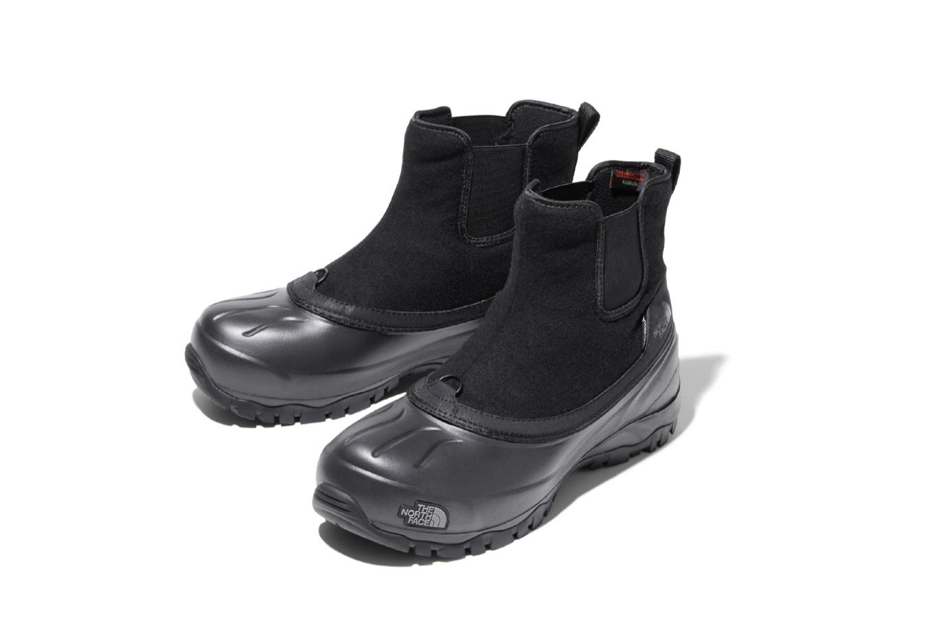 THE NORTH FACEから新作ブーツ発売 機能性ウィンターブーツをサイドゴアに
