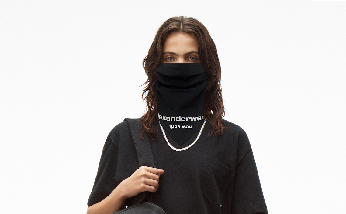 渋谷PARCO1周年、alexanderwangからマスク2型発売