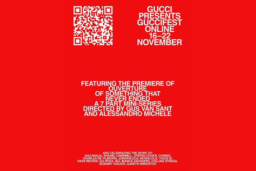 GUCCI、最新コレクションをガス・ヴァン・サント共作映画で発表 ビリー・アイリッシュら出演