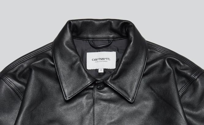 Carharttから日本限定レザージャケット発売