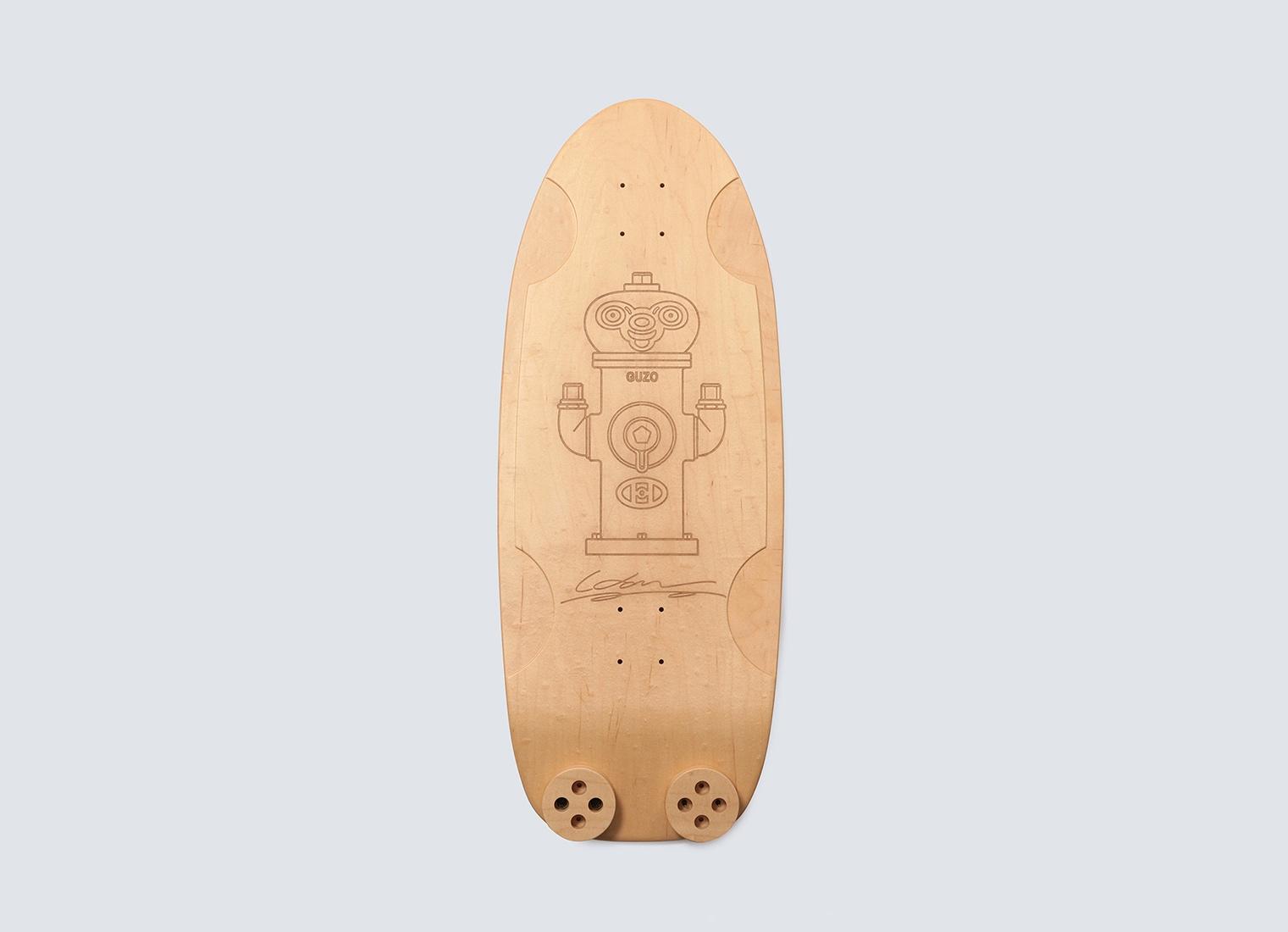 スケートカルチャーを彫刻作品に HAROSHI×天童木工による限定作品発売