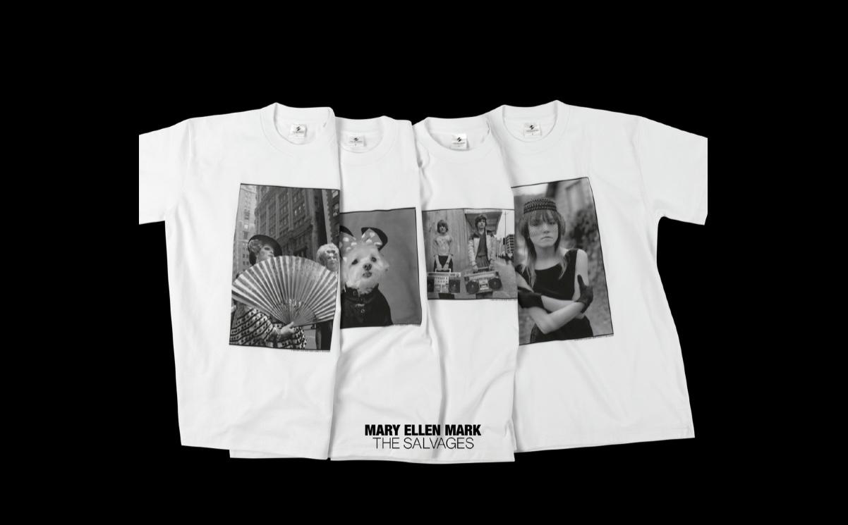 写真家メアリー・エレン・マーク初の公式Tシャツ TOKION独占販売