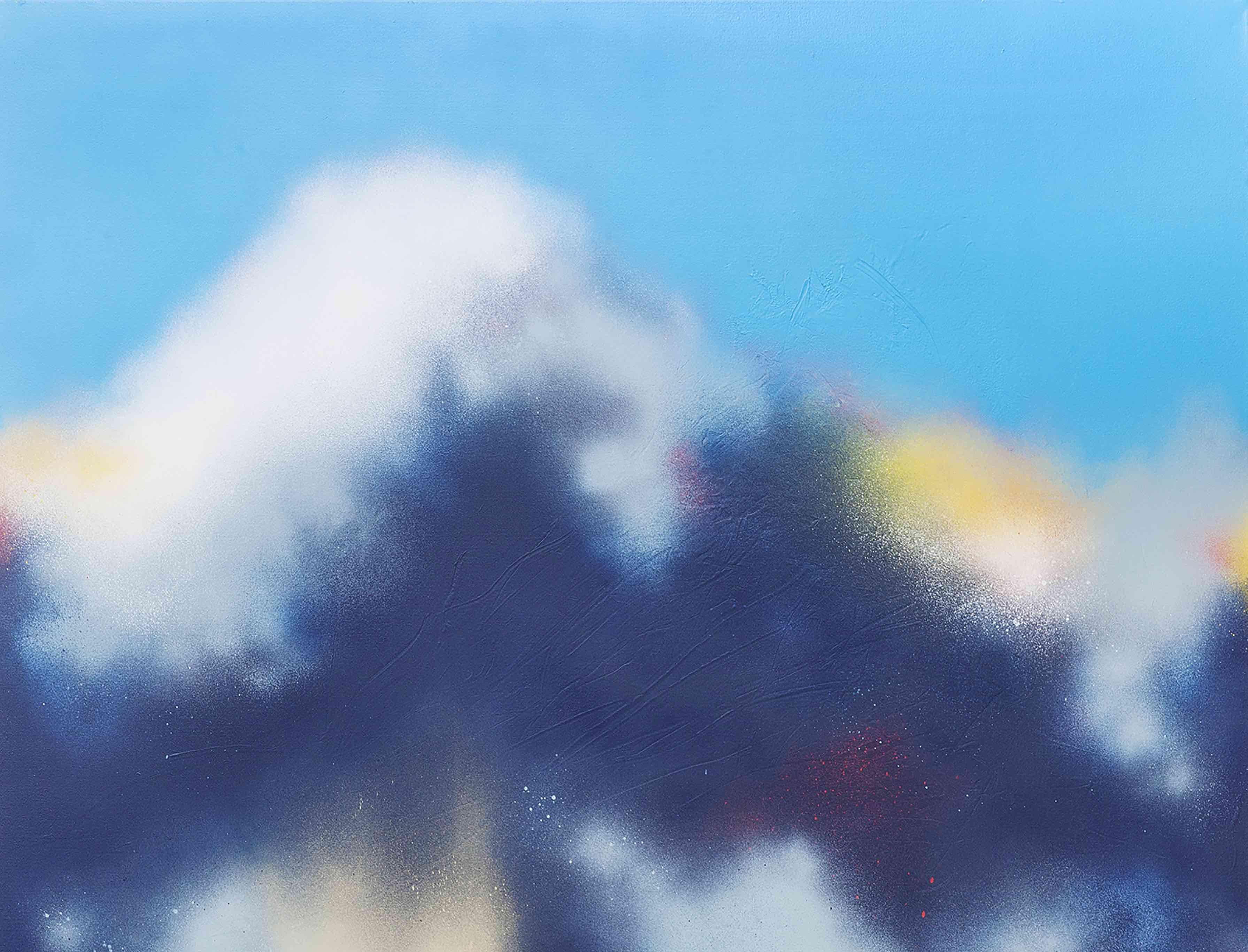 FIRST DOWN代表作に手描きの山をデザイン BEAMSからコラボアイテム発売