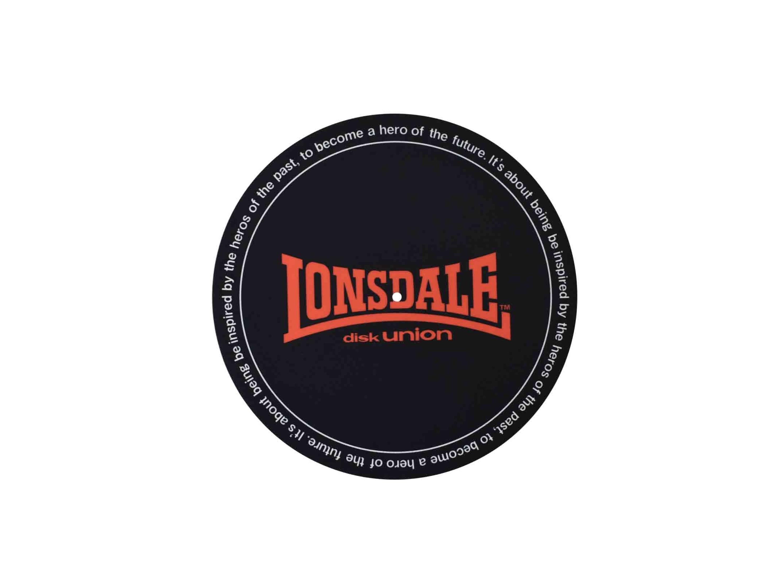 LONSDALEのロゴあしらったdisk unionとのコラボアイテム発売