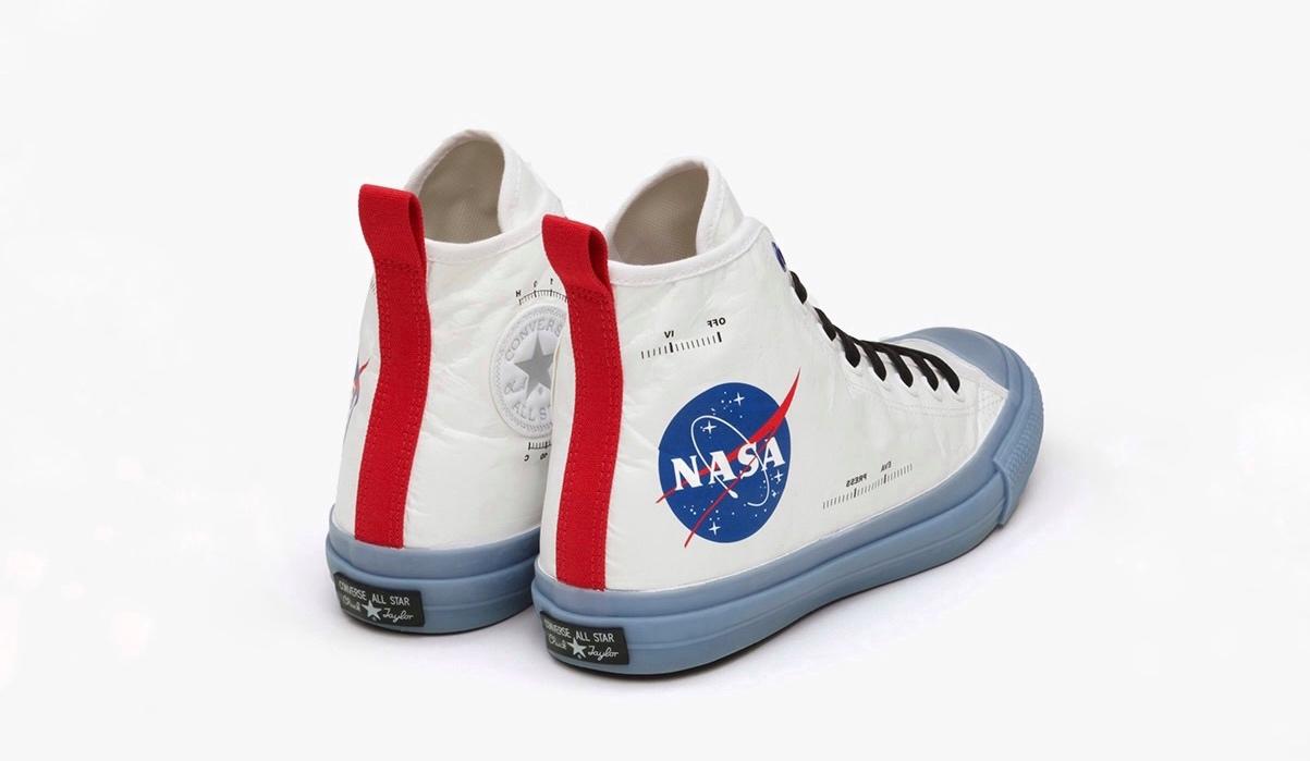 CONVERSE、NASAのレトロデザイン採用したコラボコレクション発売