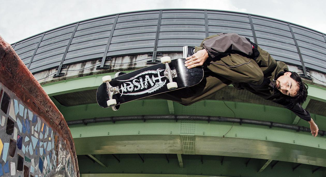 Evisen Skateboards 米老舗トラックカンパニーと初のコラボアイテム発売