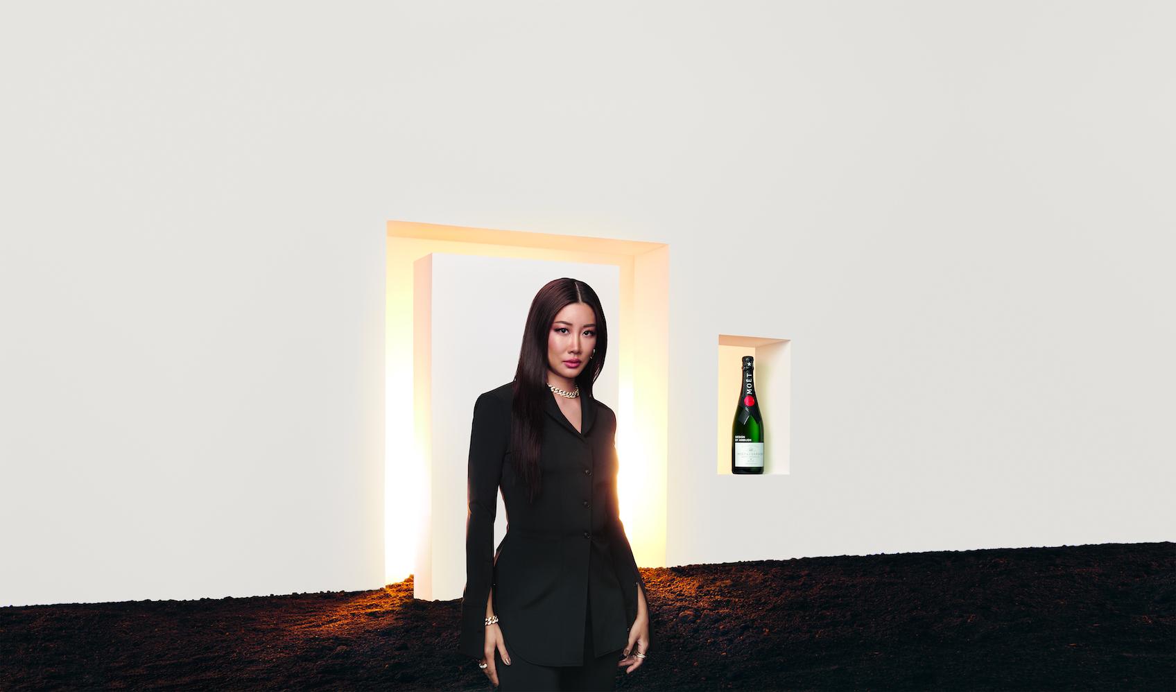 YOON、モエ・エ・シャンドンとコラボボトル発売
