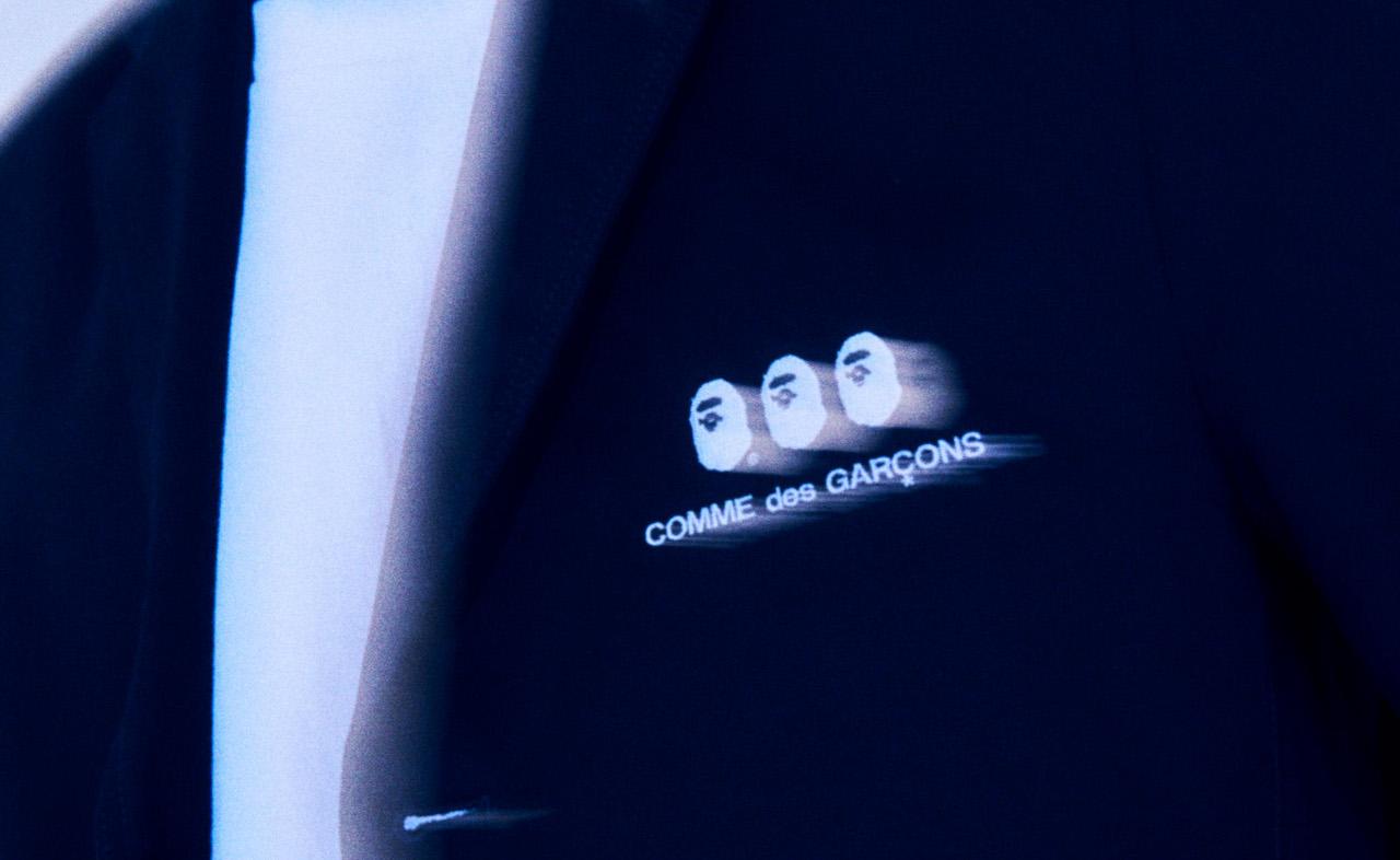 A BATHING APE®×COMME des GARCONS新作発売