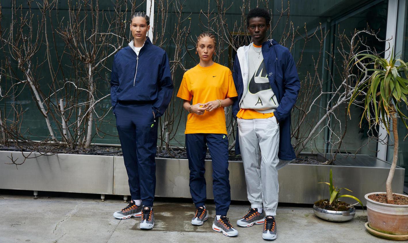 Nike×キム・ジョーンズに新作 マックス エア強調したコレクション発売