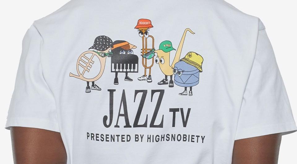 「HIGHSNOBIETY JAZZ TV」限定コレクション  bonjour recordsで再発売