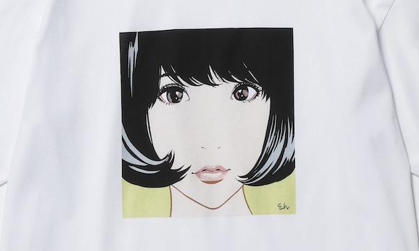 江口寿史×BEAUTY&YOUTH、「彼女」Tシャツ発売