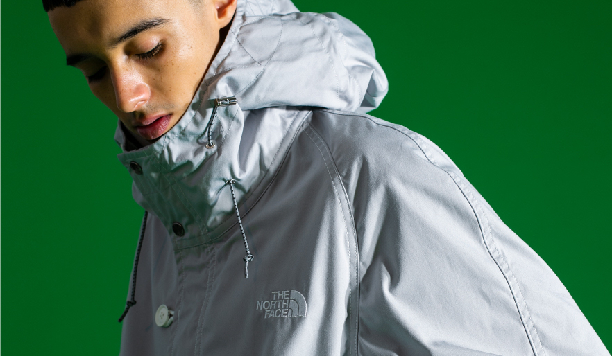 THE NORTH FACE PURPLE LABEL、monkey timeとコラボ 未展開モデル発売