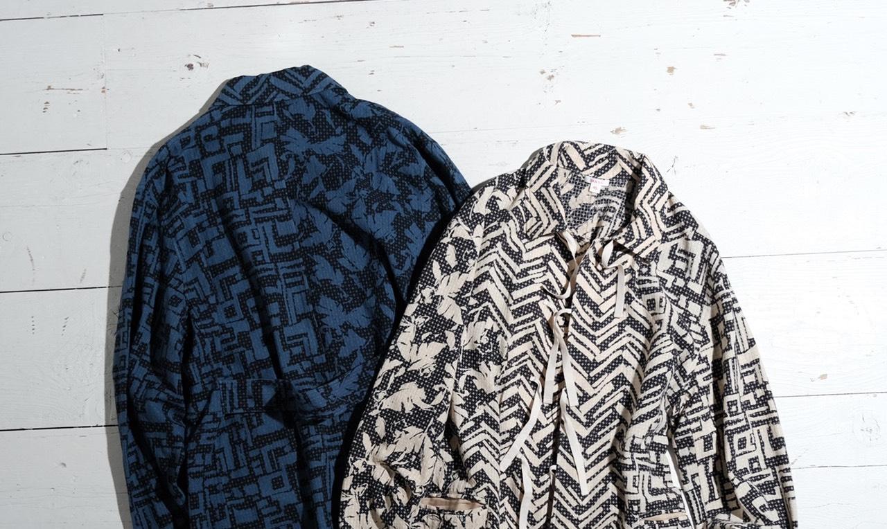BEAMS×M A S U、希少生地用いたスリーピングシャツ発売