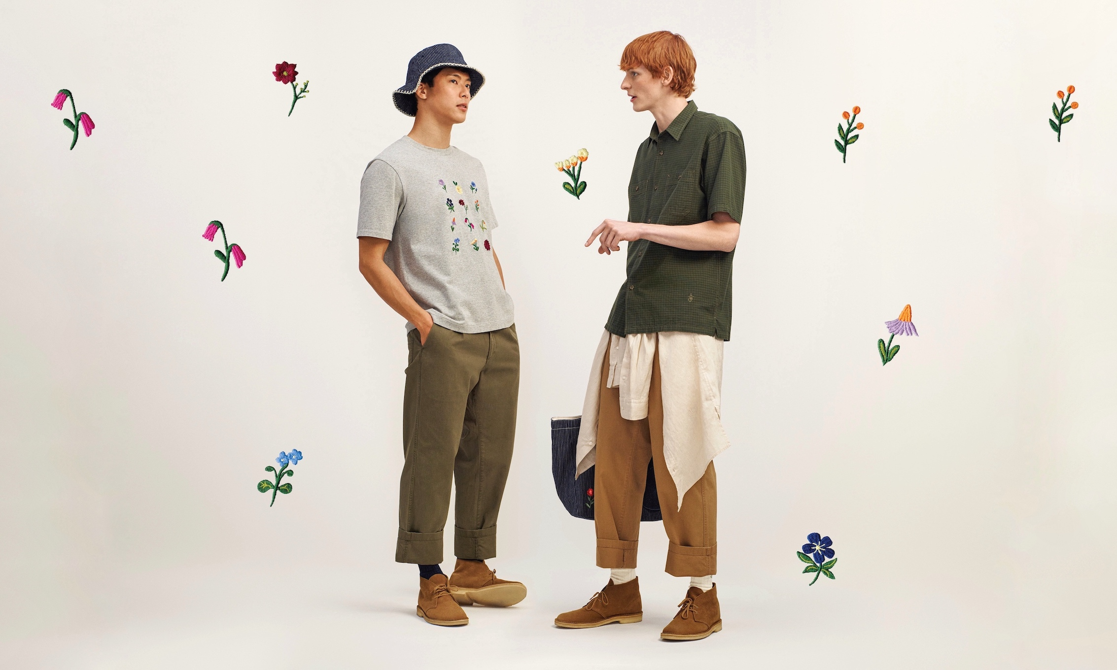 UNIQLO and JW ANDERSON 春を紡ぐ新作アイテム発売