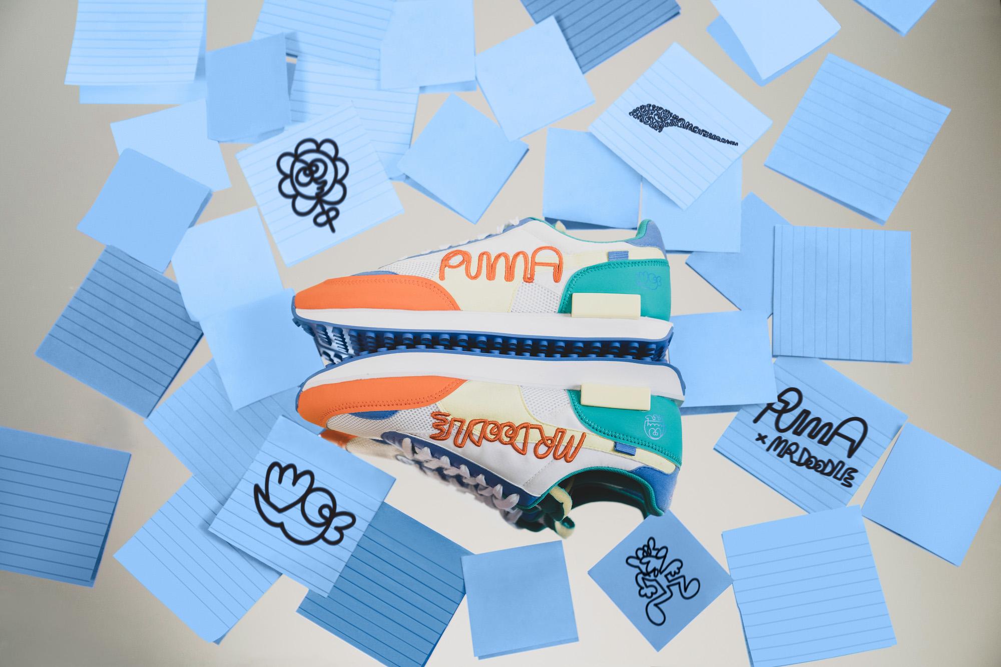 Mr. Doodleの新スタイル表現 PUMA新作コレクション発売
