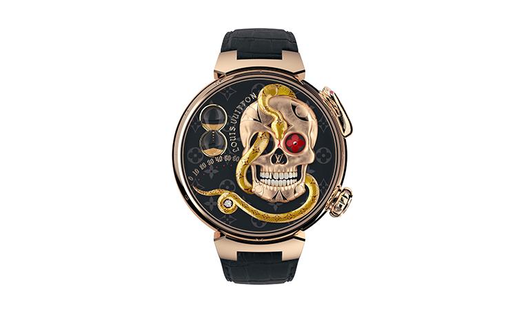LOUIS VUITTON、美術史を刻む21世紀のジャックマール時計誕生