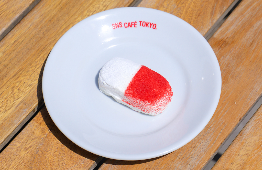 SNS CAFÉ TOKYO、アート作品もとに限定メニュー発売