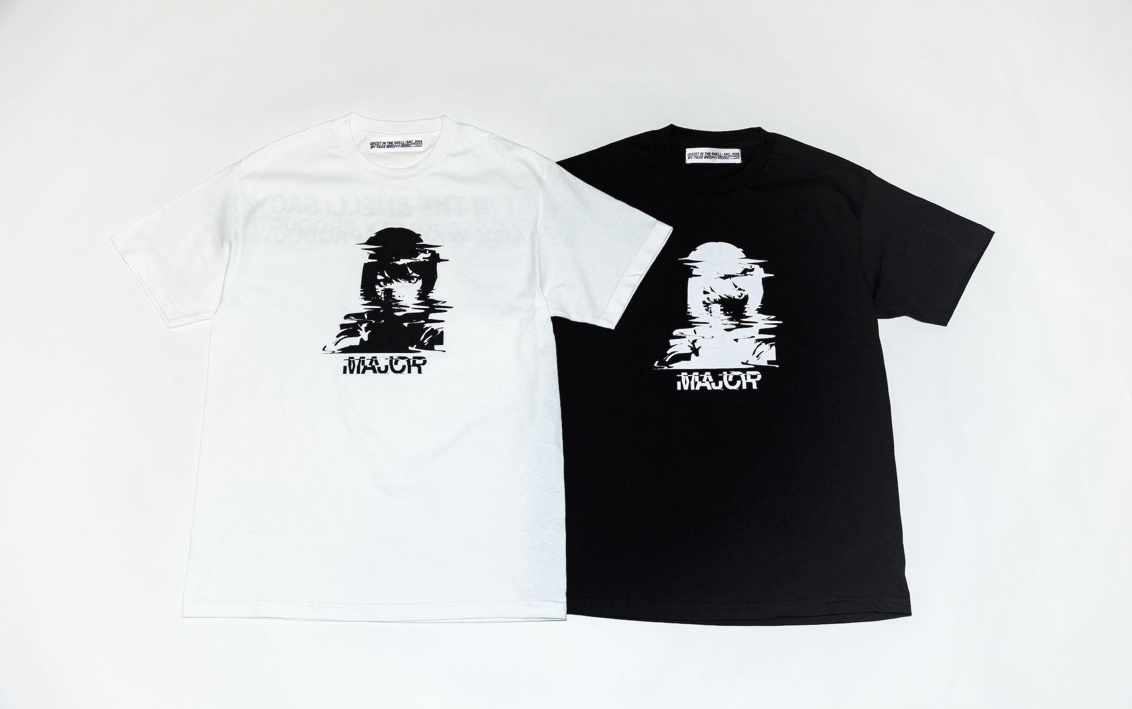 TAGS WKGPTY、グリッチアート用い攻殻機動隊のTシャツ発売